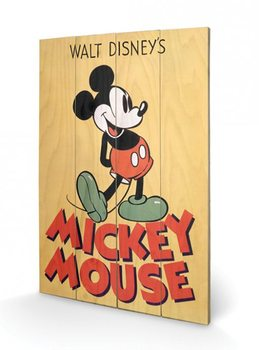 Mickey Mouse - Mickey Wooden Art