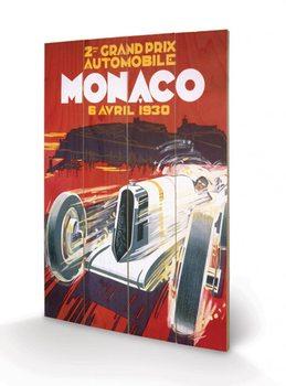 Monaco - 1930 Wooden Art