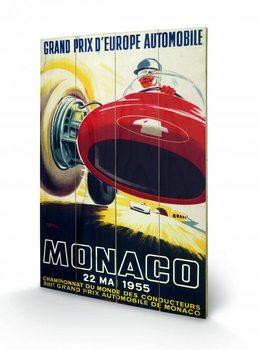 Monaco - 1955 Wooden Art