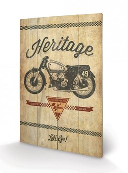 MOTO GP - top speed Wooden Art