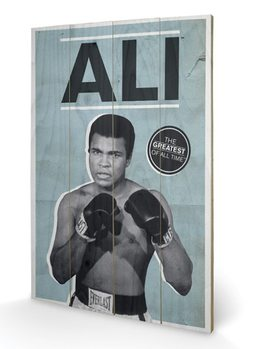 MUHAMMAD ALI - greatest Wooden Art