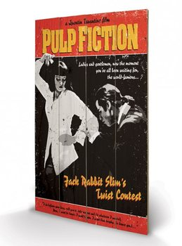 Pulp Fiction - Twist Contest Wooden Art