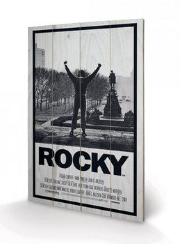 Rocky - Rocky I Wooden Art