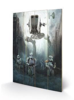 Rogue One: Star Wars Story - Stormtrooper Patrol Wooden Art