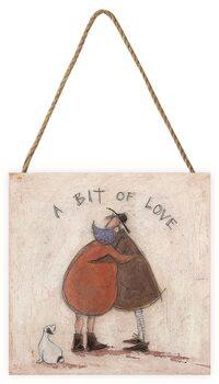 Sam Toft - A Bit of Love Wooden Art