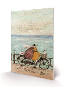 Sam Toft - A Breath of Fresh Air Wooden Art