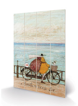 Sam Toft - A Breath of Fresh Air Wooden Art