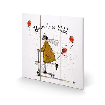 Sam Toft - Born to be Wild Wooden Art