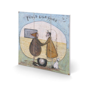 Sam Toft - Feels Like Home Wooden Art