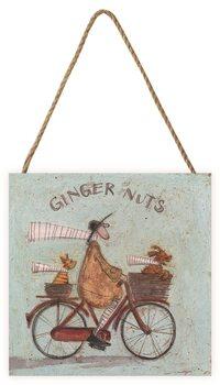 Sam Toft - Ginger Nuts Wooden Art