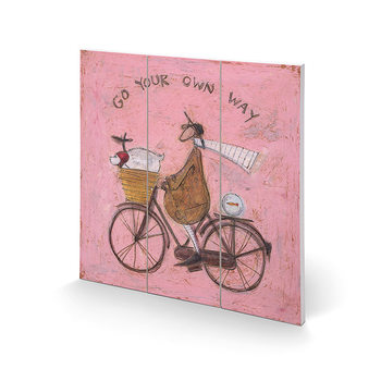 Sam Toft - Go Your Own Way Wooden Art