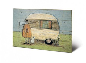 SAM TOFT - home from home Wooden Art
