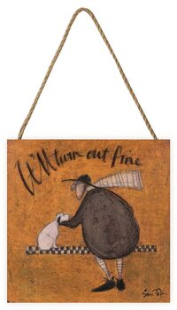 Sam Toft - It'll Turn Out Fine Wooden Art