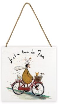 Sam Toft - Just in Time for Tea Wooden Art