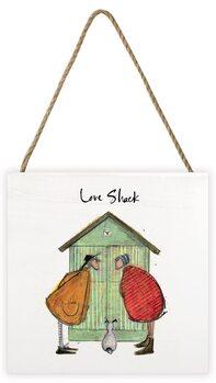 Sam Toft - Love Shack Wooden Art