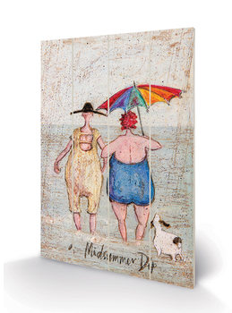 Sam Toft - Midsummer Dip Wooden Art