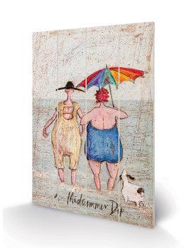Sam Toft - Midsummer Dip Wooden Art