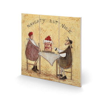 Sam Toft - Naughty But Nice Wooden Art