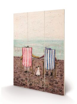 Sam Toft - Perfect Day Wooden Art