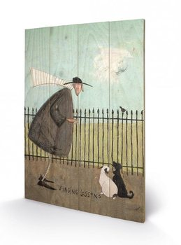 Sam Toft - Singing Lessons Wooden Art