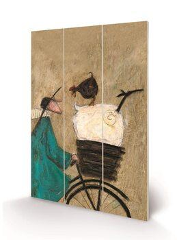 Sam Toft - Taking the Girls Home Wooden Art