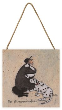 Sam Toft - The Afternoon Cuddle Up Wooden Art