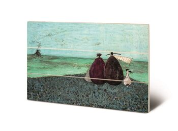 Sam Toft - The Same as it Ever Was Wooden Art