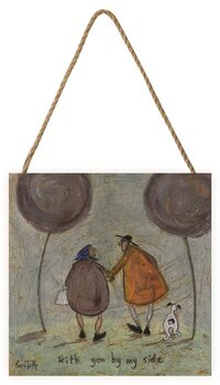 Sam Toft - With You By My Side Wooden Art
