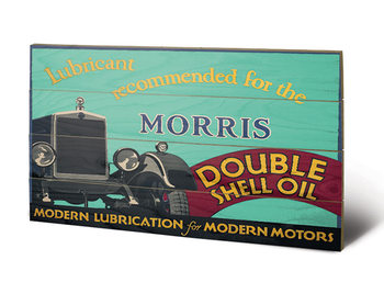 Shell - Morris, 1928 Wooden Art