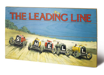 Shell - The Leading Line, 1923 Wooden Art