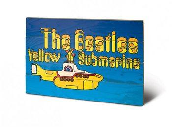 The Beatles - Yellow Submarine Wooden Art