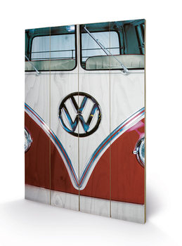 VW - Red Wooden Art
