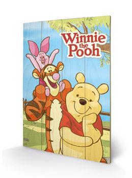 Winnie the Pooh - Shoulders Wooden Art