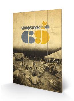 Woodstock - Woodstock 69 Wooden Art
