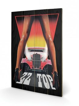 ZZ Top - Legs Wooden Art