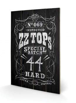 ZZ Top - Special Batch Wooden Art