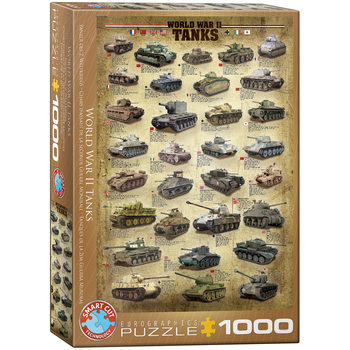 Puzzle World War II Tanks