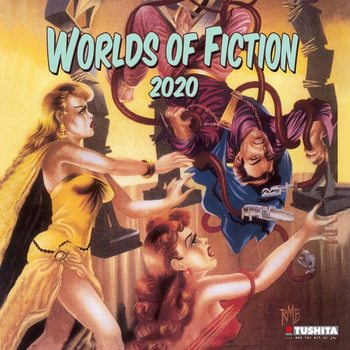 Calendar 2021 Worlds of Fiction