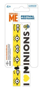 Minions (Despicable Me) Wristband