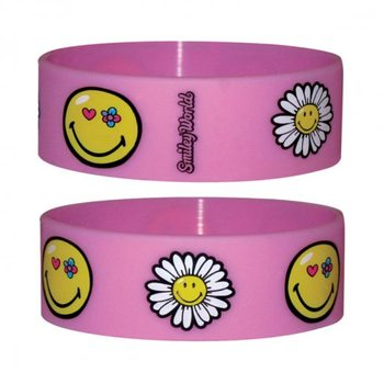 SMILEY - flowers Wristband