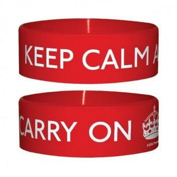Bracelet KEEP CALM AND CARRY