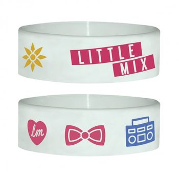 LITTLE MIX - white Wristband
