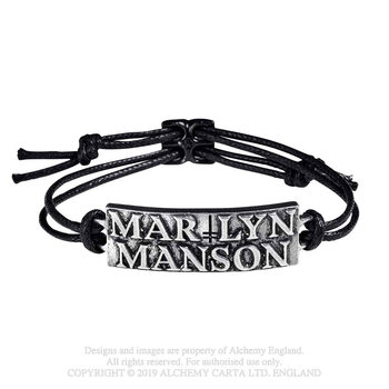 Marilyn Manson - Logo Wristband