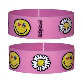 SMILEY - flowers Wristband