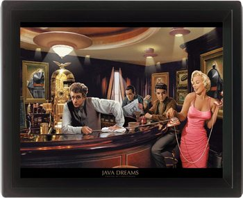 3D Poster CHRIS CONSANI - java dreams