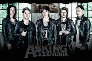 Asking Alexandria - Window Affiche