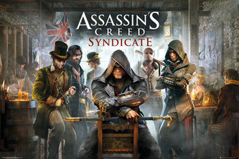 Assassin's Creed Syndicate - Pub Affiche