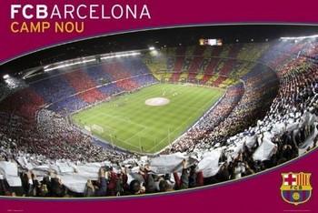 Barcelona - nou camp Affiche