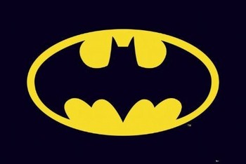 BATMAN - classic logo Affiche