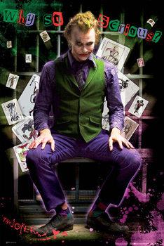 BATMAN DARK KNIGHT - joker jail Poster